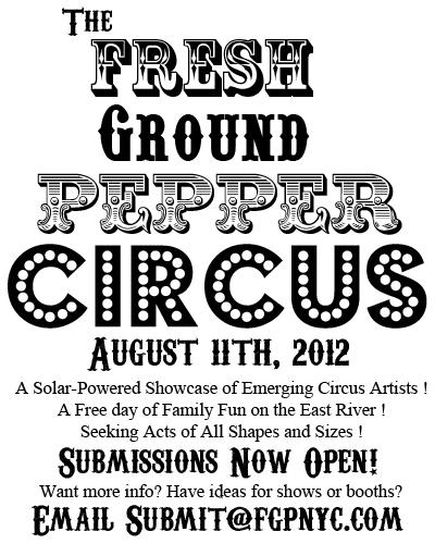 CircusFlyerBW